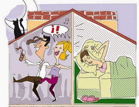 , Vecinos molestos y otros ruidos