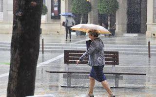 """Deja que llueva, deja que llueva. La lluvia es buena para el campo"""