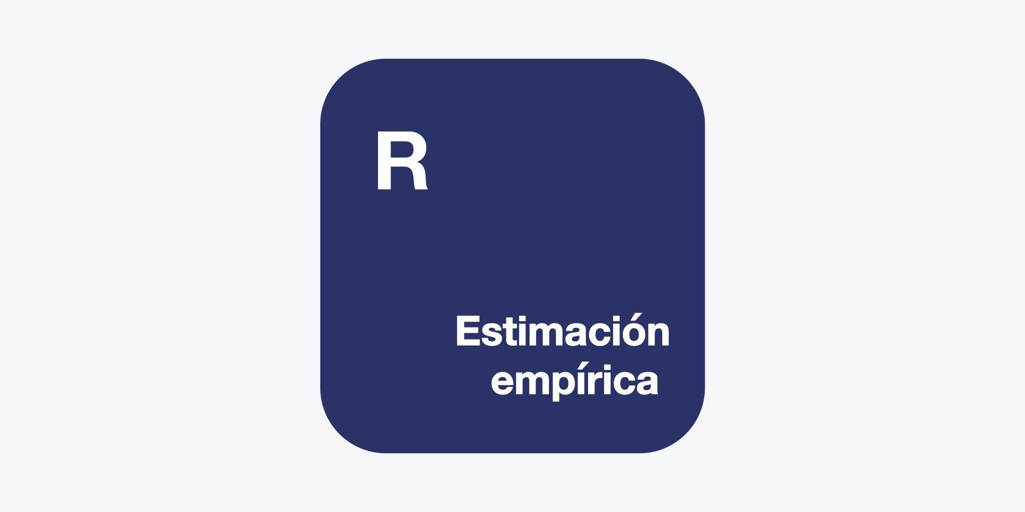 R Estimación Empírica