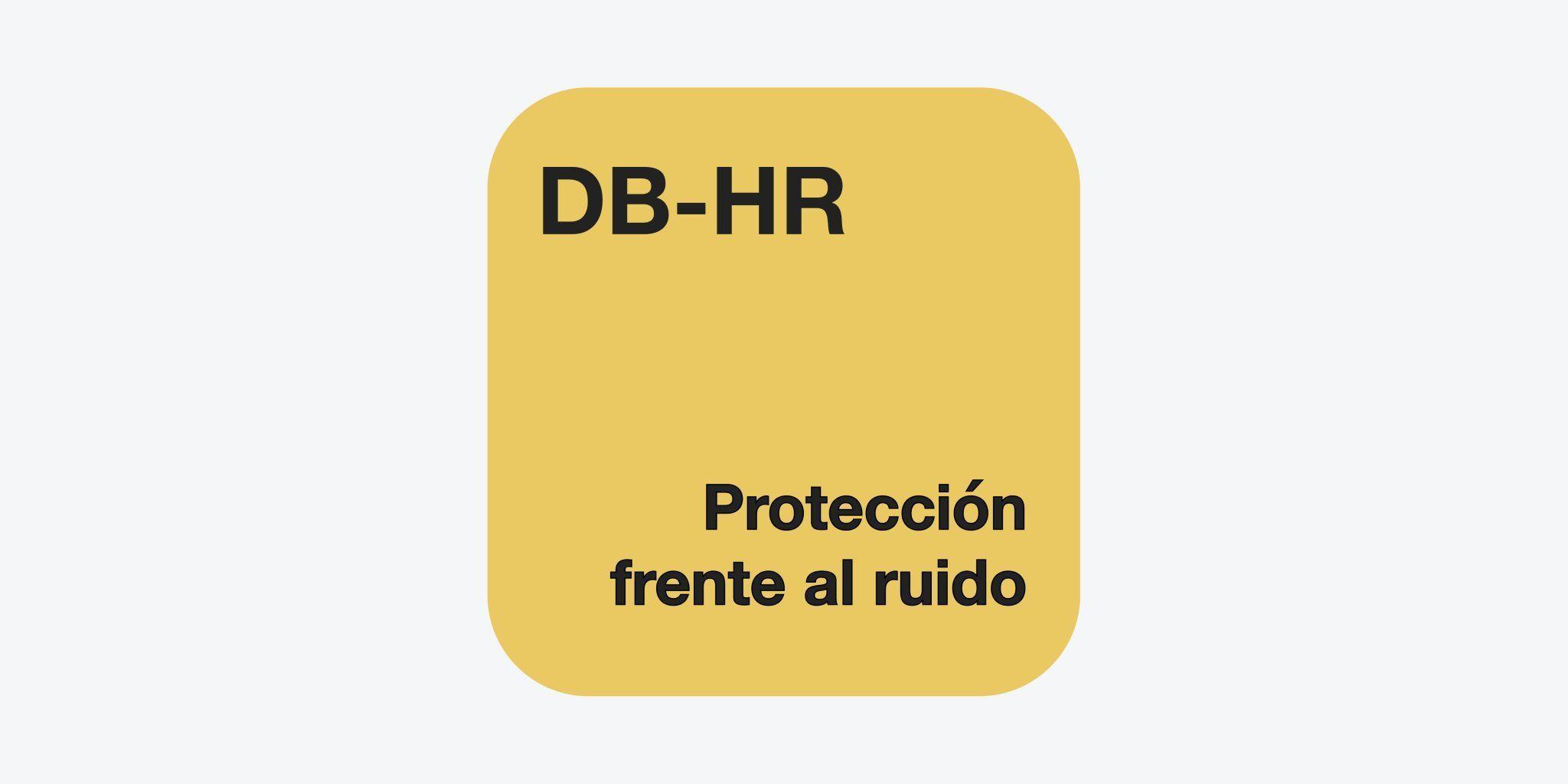 DB-HR Protección frente al ruido