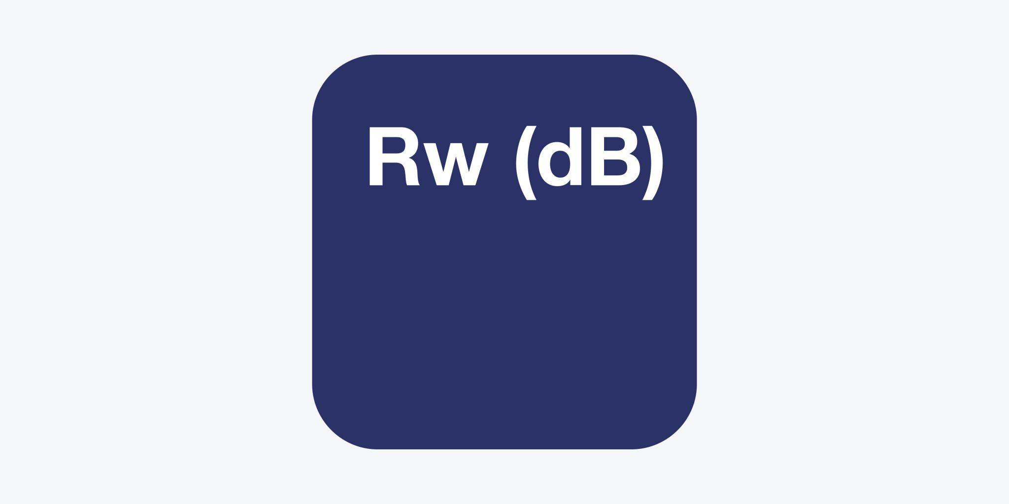 Base de Datos de ensayos de Índices Rw (dB)