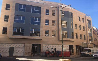 Edificio Loreto: Instaladores cualificados, materiales URSA