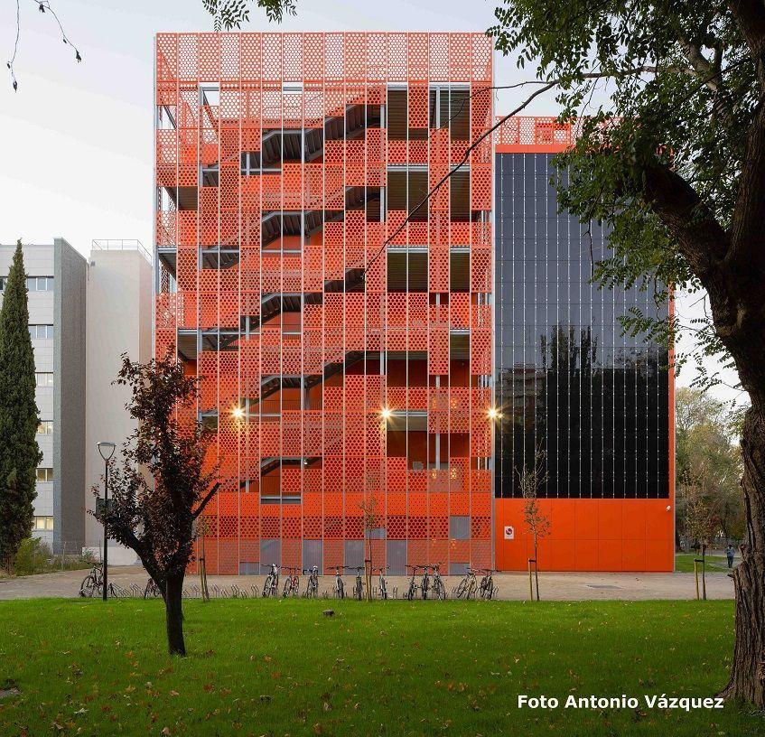 , URSA XPS en el premiado aulario IndUVa de Valladolid