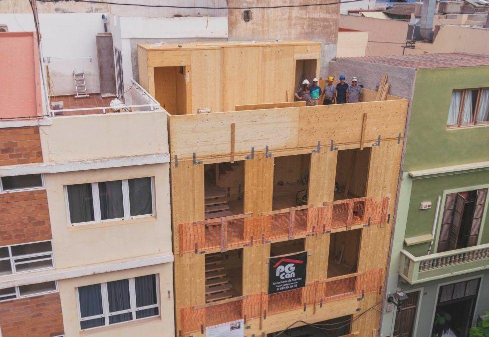 Un edificio a prueba de calima (preparado ante el cambio climático, passivhauss, EECN, VERDE…) y aislado con URSA
