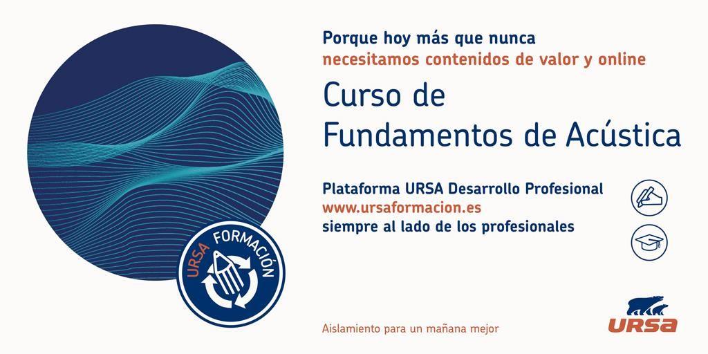 Fundamentos de Acústica nuevo curso de URSA