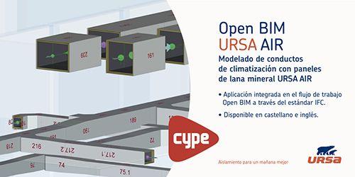 La herramienta Open BIM URSA AIR