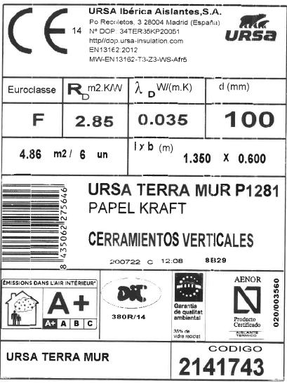 Etiquetado de los productos de construcción