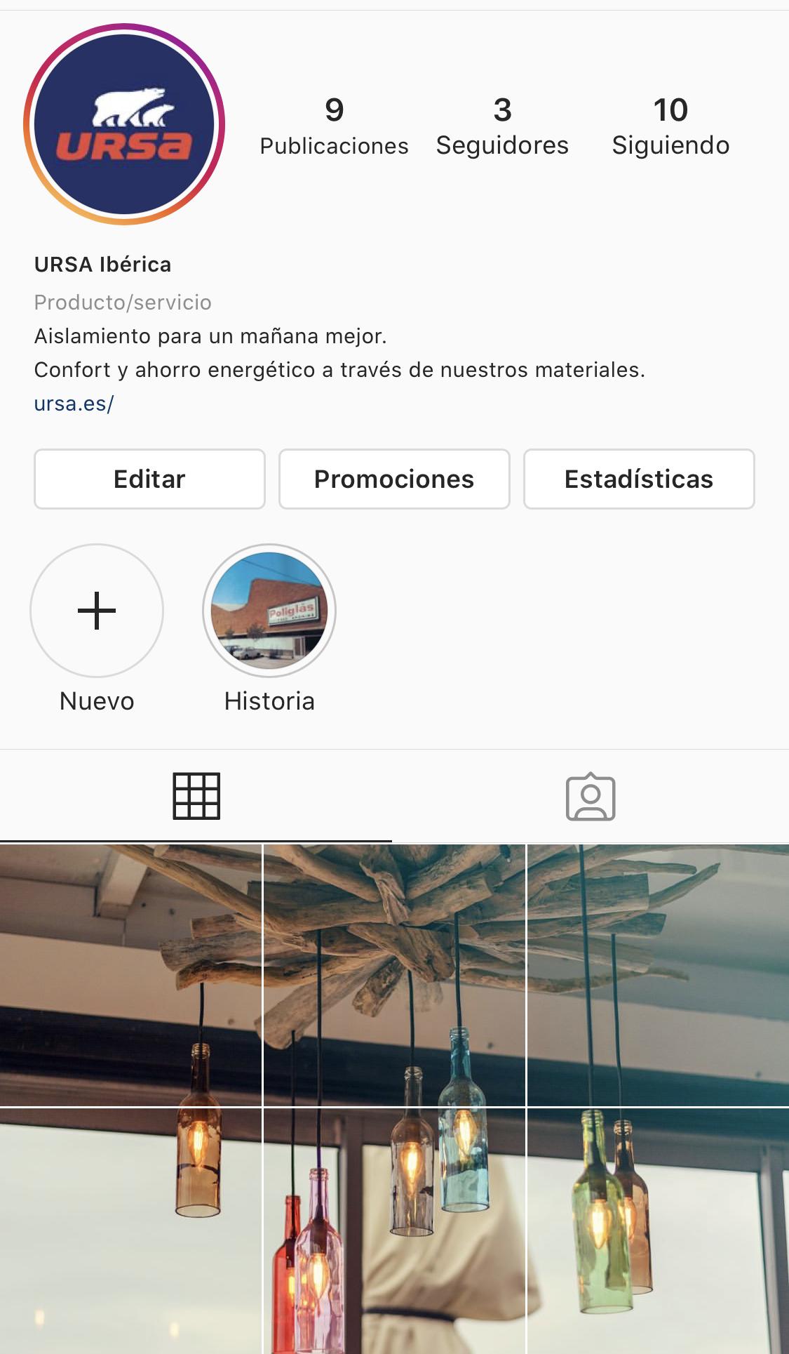 Instagram URSA Ibérica