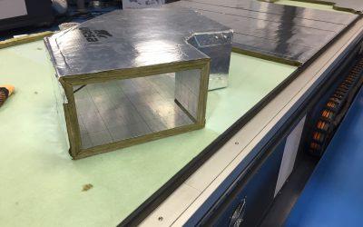 FRC 412, la nueva máquina para el cortado de paneles para la construcción de conductos más rápida y eficiente del mercado