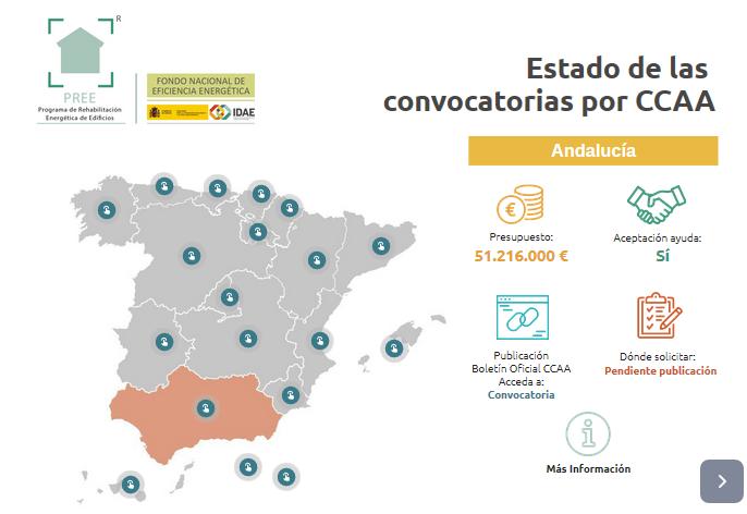 Ayudas a la rehabilitación Andalucía