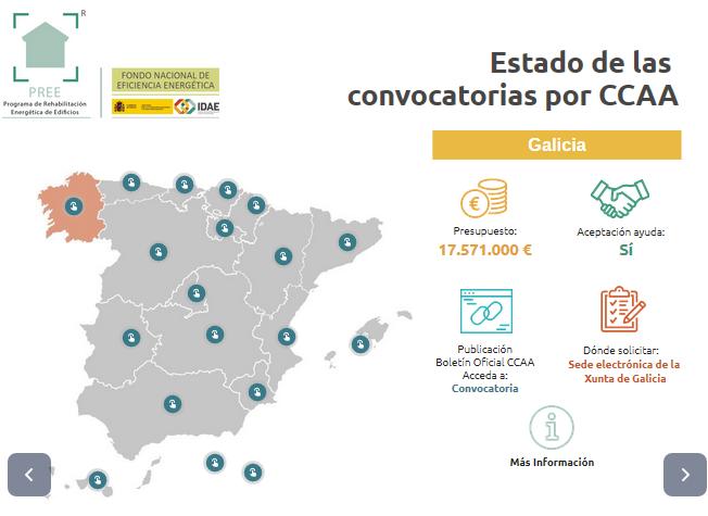 Ayudas Rehabilitación Galicia