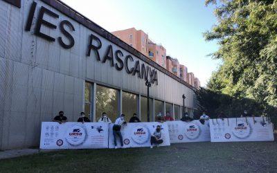 URSA dona material al Instituto Rascanya de Valencia para que los alumnos aprendan a fabricar conductos de climatización URSA AIR