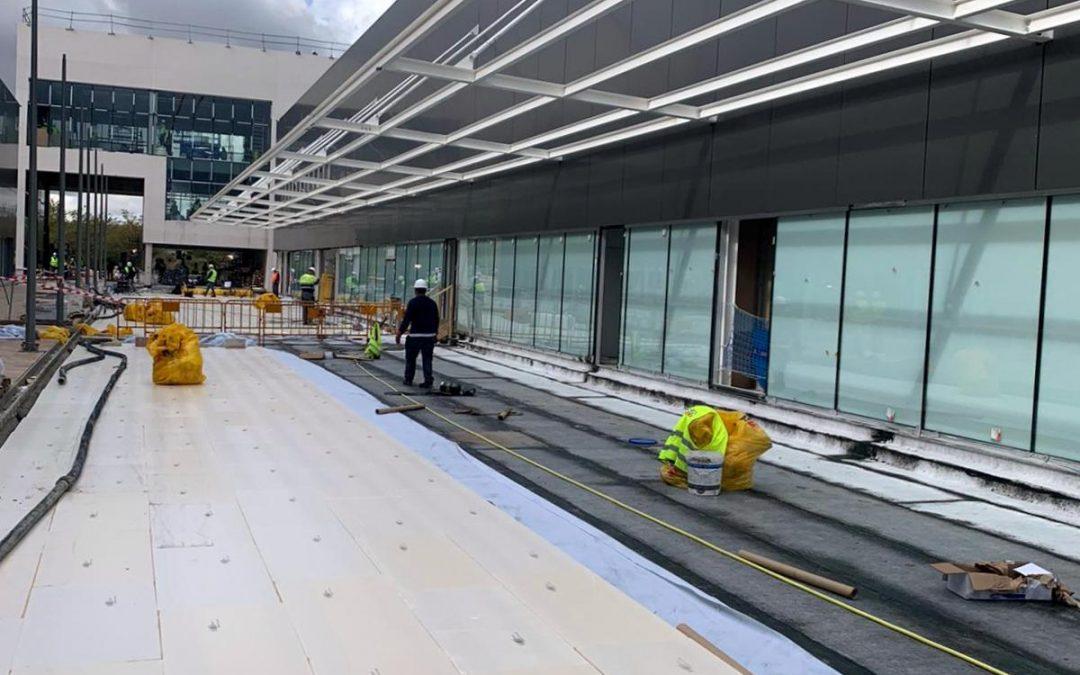 6.000 m2 de URSA XPS en la cubierta del nuevo Hospital de Pandemias de Madrid