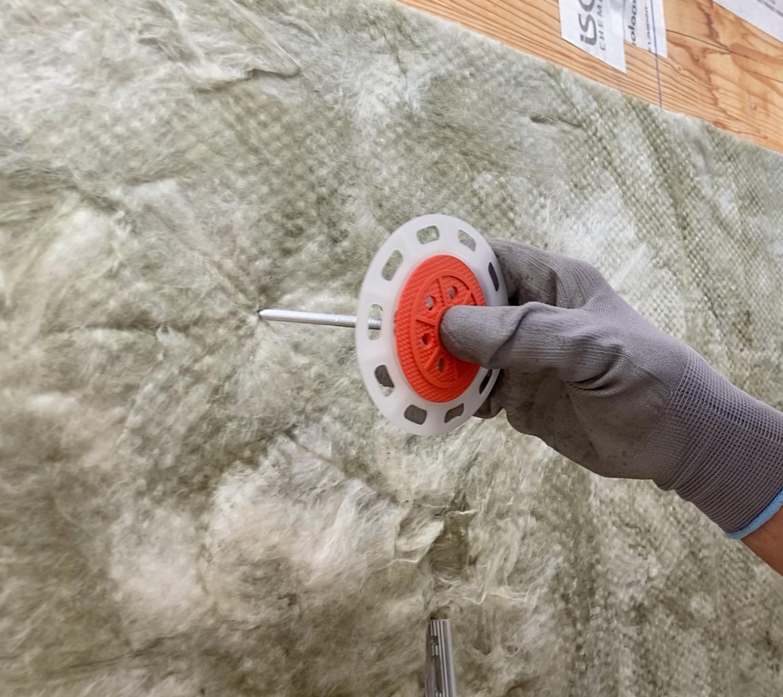 Instalación de una fachada ventilada