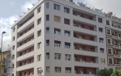 Rehabilitación energética con URSA en un edificio de viviendas frente al mar