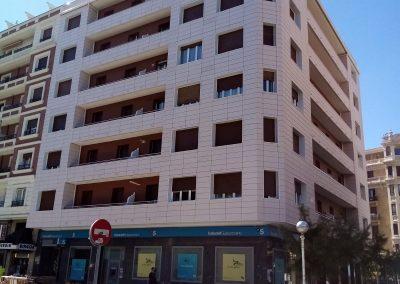 , Rehabilitación energética con URSA en un edificio de viviendas frente al mar