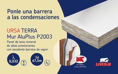 URSA TERRA Mur AluPlus P2003, el nuevo panel anti condensaciones intersticiales de URSA