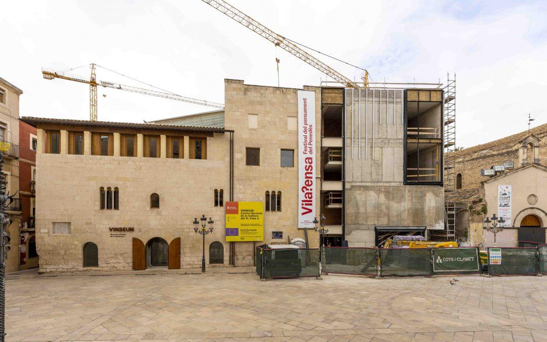 Conductos de climatización URSA AIR en la ampliación del Museo del Vino en Villafranca del Penedès