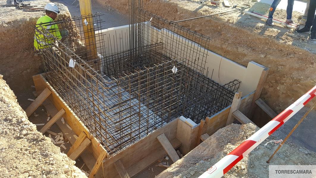 Aislamiento bajo cimentación URSA XPS en una Residencia de Mayores construida bajo el estándar Passivhaus